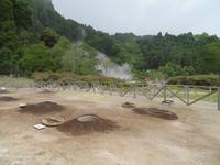 Erdöfen am Lagoa das Furnas