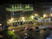 Portugal – Lissabon,  Electrico 28 auf dem Praca de Figueira