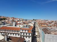 Portugal, Lissabon, Blick vom Augustustor