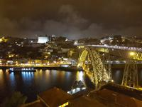 Portugal, Porto bei Nacht