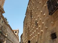 Portugal, Ausflug Salamanca/Spanien, Muschelpalast