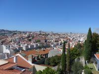 Portugal, Lissabon, Blick vom Castel