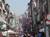 Porto - Fahrt mit der historischen Straßenbahn