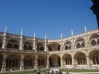 Lissabon, Hieronynimus-Kloster - Kreuzgang