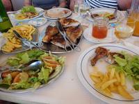 147 Mittagessen Hühnchen Piri Piri