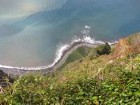 Blick nach unten am Cabo Girao