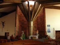 Innenraum der Kirche in Camacha