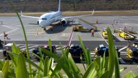 Flughafen Funchal,der Urlaub geht zu Ende
