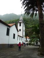 Die Pfarrkirche in Sao Vicente