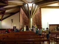 Innenraum der Kirche von Camacha