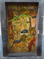 Funchal - bemalte Haustüren in der Rua da Santa Maria