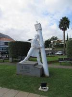 Statue an der Promenade
