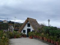 Strohgedecktes Haus in Santana