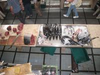 Thunfisch und Espada in der Markthalle