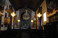 Innenraum der Kirche von Monte