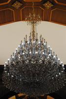 Kronleuchter aus böhmischen Glas - Kirche von Ribeira Brava