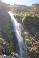 Wasserfälle entlang des Weges nach Sao Vincente