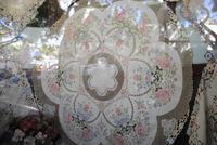Handarbeit aus Madeira - Stickereien bekannter Verkaufsladen in Funchal