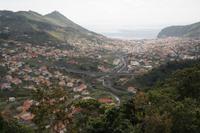Blick zur Bucht von Machico
