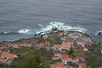 Blick auf Porto Moniz (ganz imNorden der Insel)