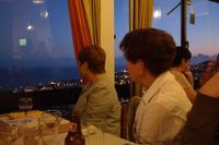 Blick vom Restaurant auf den Hafen von Funchal