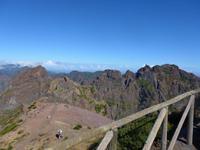 Madeira, Wanderweg am Pico do Arieiro