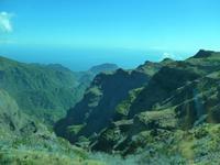 Madeiram, Blick vom Pico do Arieiro zur Nordküste