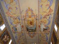 Madeira, Sao Vicente, Deckenmalerei in der Kirche