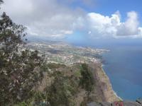 Madeira, Blick vom Cabo Girao nach Funchal