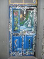 Funchal, originelle Türen in der