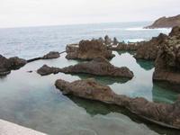 natürliche Lava-Schwimmbecken