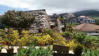 Weizenstrohdachhütte