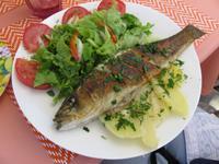 Frischer Mittagsfisch in Cascais