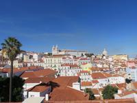 Lissabon – Blick zur Igreja de São Vicente de Fora