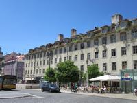 Lissabon alten Häuser mitten in der Stadt