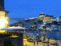 Blick auf die Brücke Ponte D. Luis 1