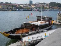 Unser Boot für unsere Schifffahrt auf dem Douro