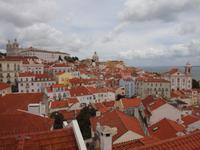 Lissabon - Blick über Alfama