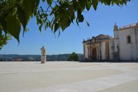 Blick auf die Universitätsbibliothek Biblioteca Joanina