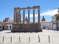 Évora - römischer Diana-Tempel