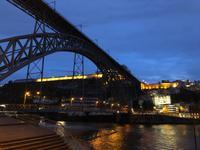 Ponte Dom Luís I - Porto bei Nacht