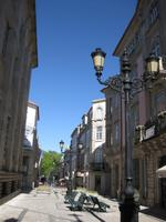 In der Altstadt von Viseu