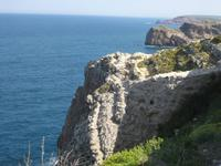 Die portugisische Atlantikküste beim Cabo de Sao Vicente