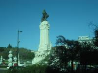 Lissabon - Denkmal Marques de Pombal