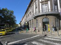 Avenida Arriaga - Hauptstraße von Funchal