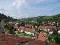 Ein typisches Dorf der Siebenbürger Sachsen