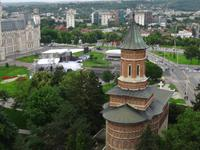 Kulturpalast und Kirche in Iasi