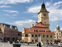 Brasov: Am Rathausplatz