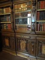 Schloss Peles in Sinaia - Bibliothek, Geheimtür