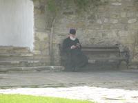 Rumänien Mai 2019 - Männerkloster Neamt - weltliche Einflüsse